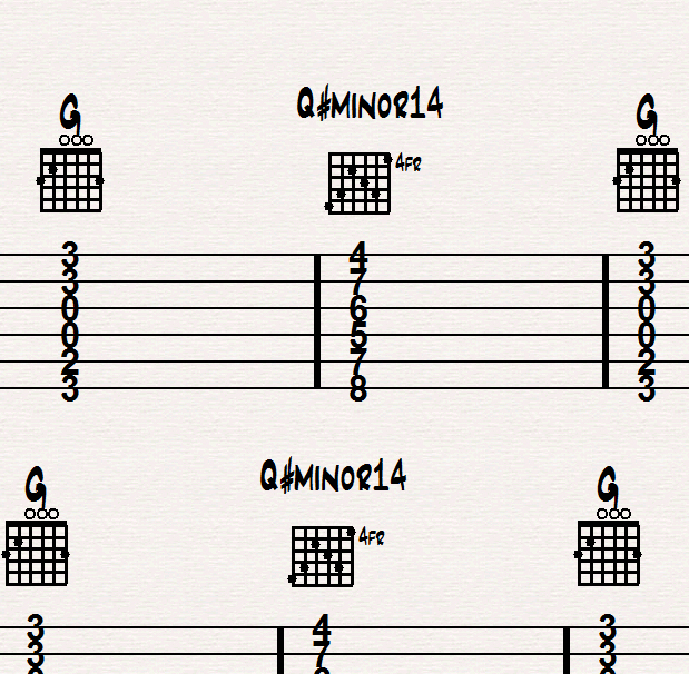 Playing Tough Chord Changes on Guitar, Method 2 | Guitar Lessons in ...