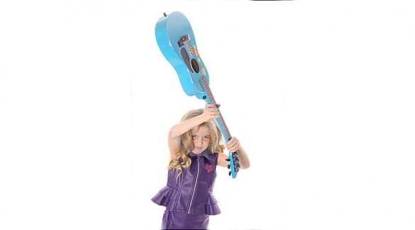 pic of Girl Smashing Guitar
