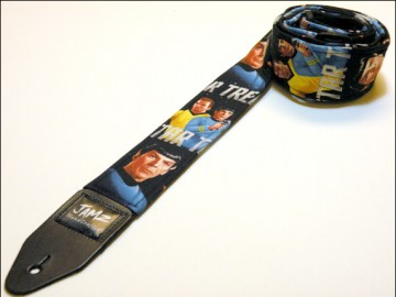 Star Trek Guitar Strap - guitar lessons