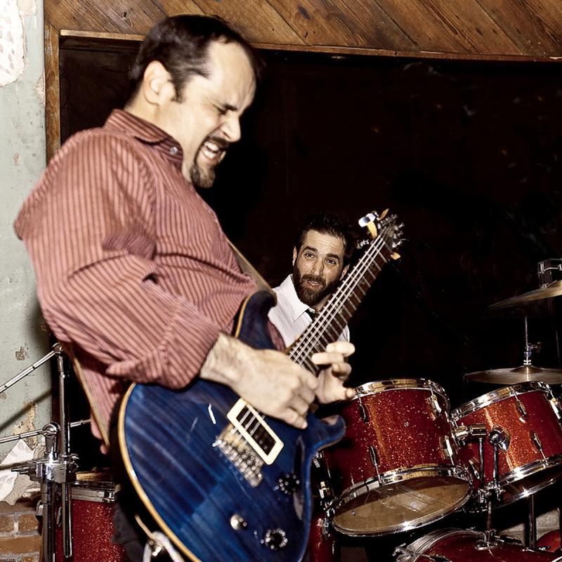 Bryan Wade guitarist and singer of WRONGWRONGWRONG South Carolina