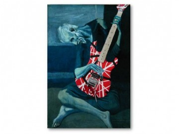 Looking at Hands Playing Guitar = Thinking
